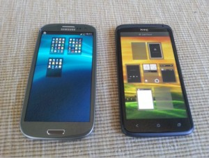 Samsung Galaxy S3 vs HTC 1 X Picture 3