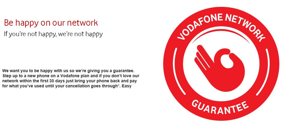 Vodafone Coverage - The Vodafone Network Guarantee
