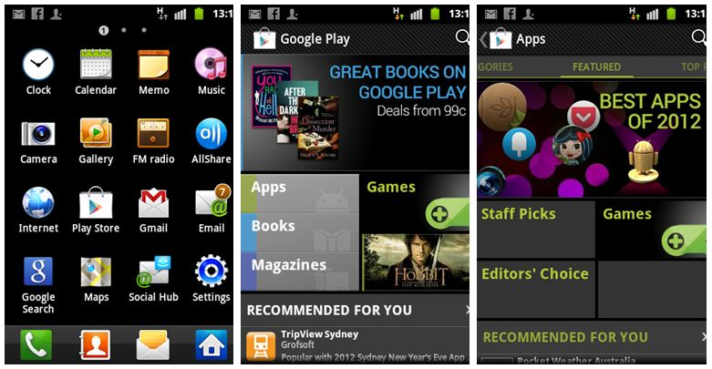 app store android phone