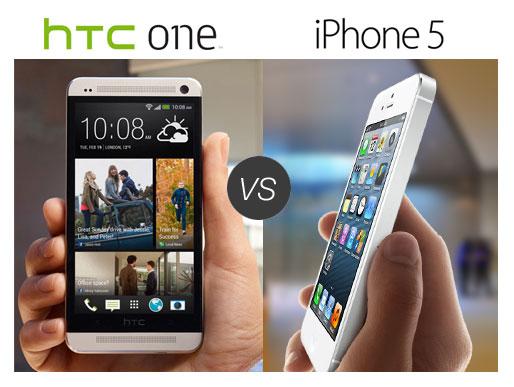 IPHONE 5C VS HTC ONE M8