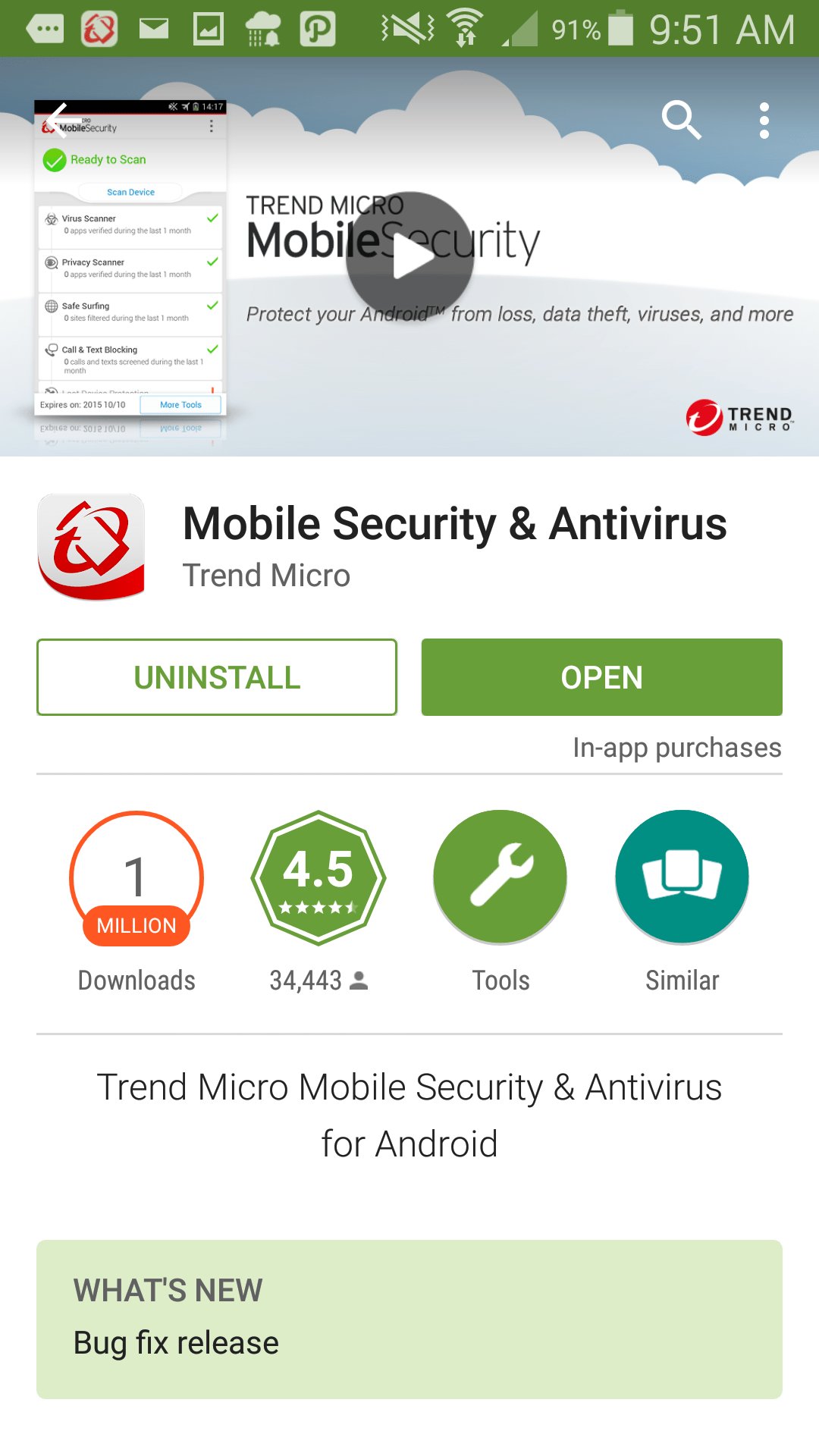 Trend Mobile Security Download