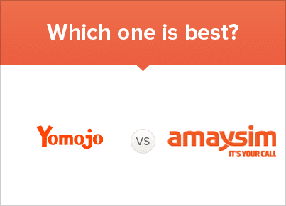 Comparing Yomojo and Amaysim