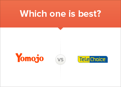 Comparing Yomojo vs TeleChoice