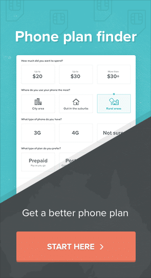 phone plan finder - find the right phone plan