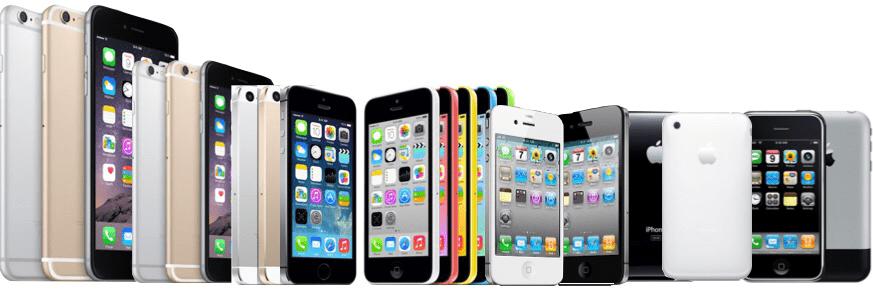 apple iphone evolution