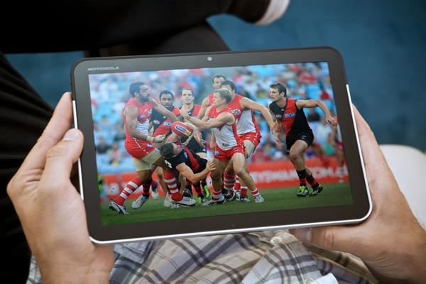 AFL streaming on Telstra