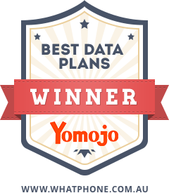 Yomojo won our 'best data plan'award in 2017.