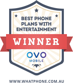 OVO Mobile Best Phone Plan Awards