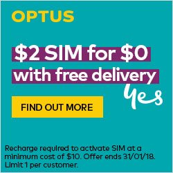 Download Activate Optus 3g Sim free - SRLY