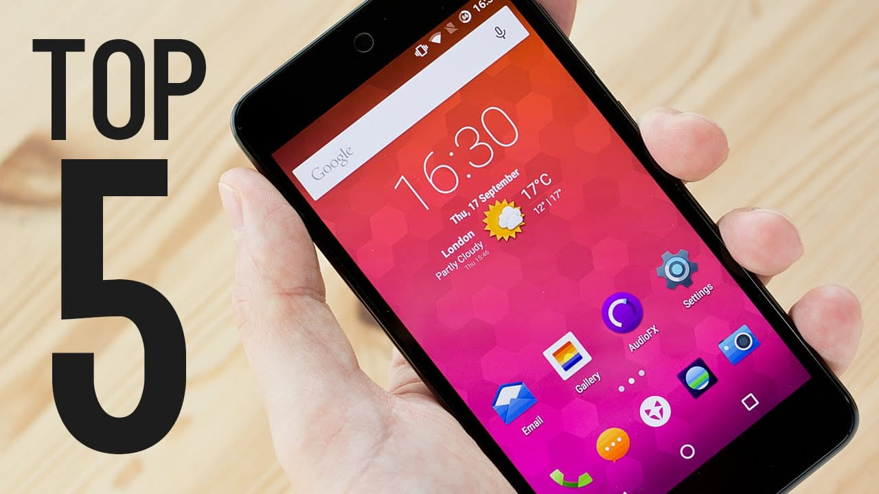 These are the Top 5 BEST Australian Budget Smartphones!