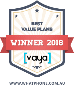 WhatPhone Awards 2018 : Best Value Plans.