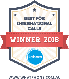 WhatPhone Awards 2018 : Best For International Cals.