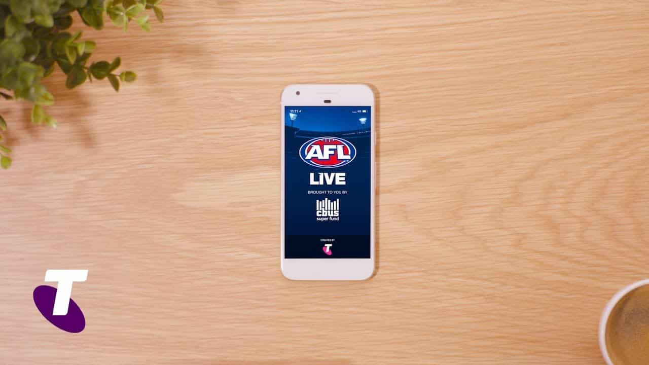 Stream Football Matches Online through the AFL Live App from Telstra