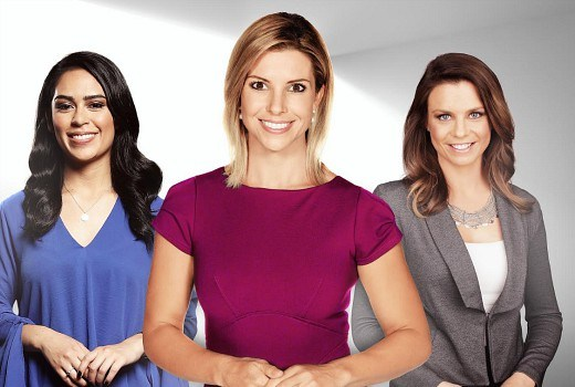 All –women broadcaster team at Optus Sport for FIFA Women's World Cup 2019