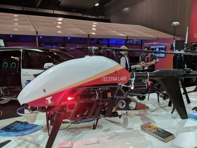 Thales and Telstra partnership for drones