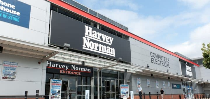 A Harvey Norman Franchise Store