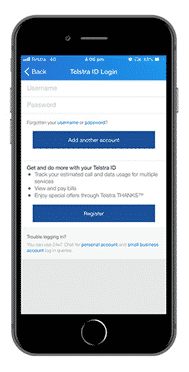Telstra 24x7 App login.