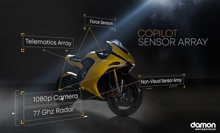 Damon Motorcycles Hypersport electric bike wins Best in Innovation at CES 2020.