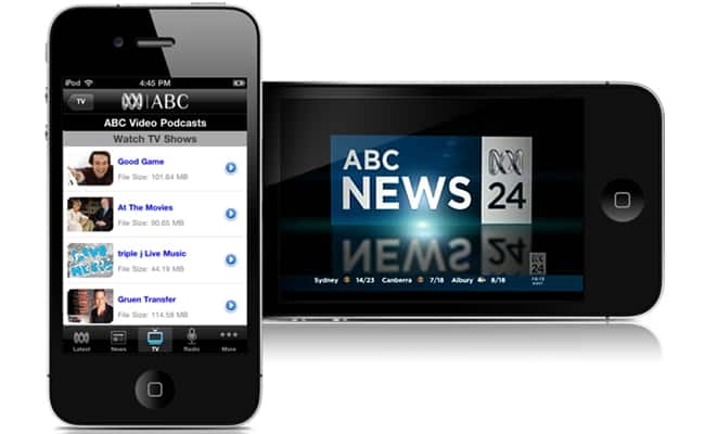 How To Watch The ABC Live Streamed On Your Phone