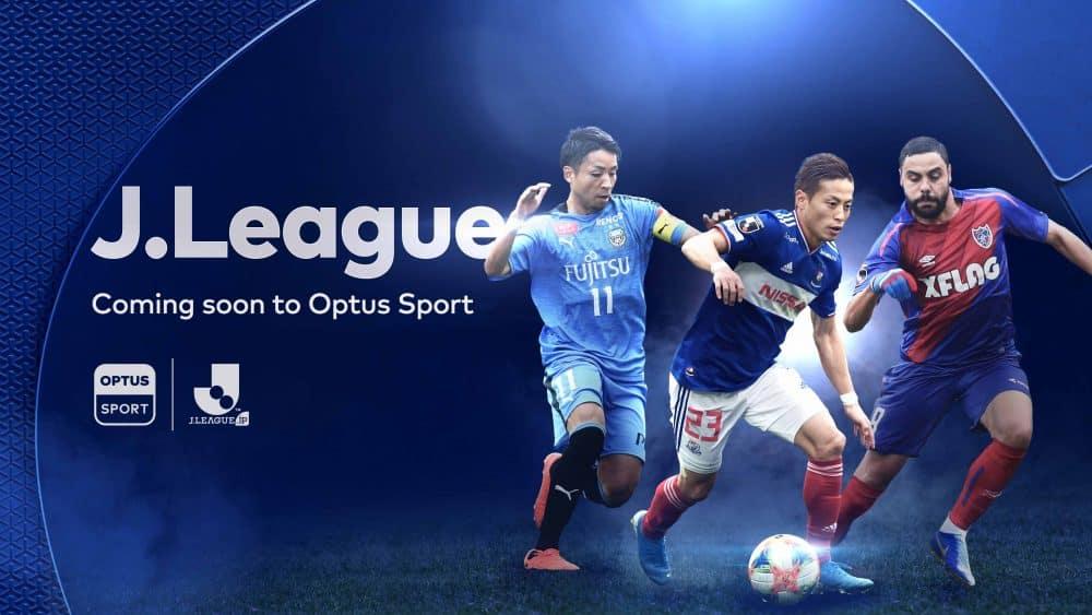 Optus Sport Acquires Japanese J.League