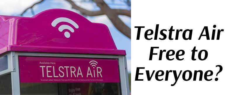 Why Does Telstra Give Away Telstra Air Free to Everyone?