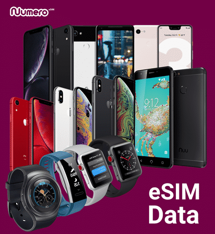 Only a handful of devices are eSIM-enabled - many of them are eSIM models of traditional SIM devices