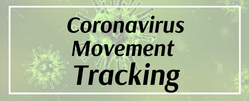 Coronavirus Movement Tracking
