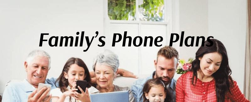 Family's Phone Plans