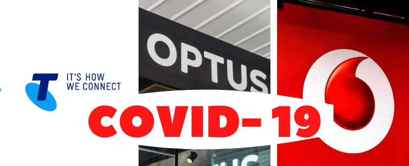 Telstra, Optus, and Vodafone React to COVID-19