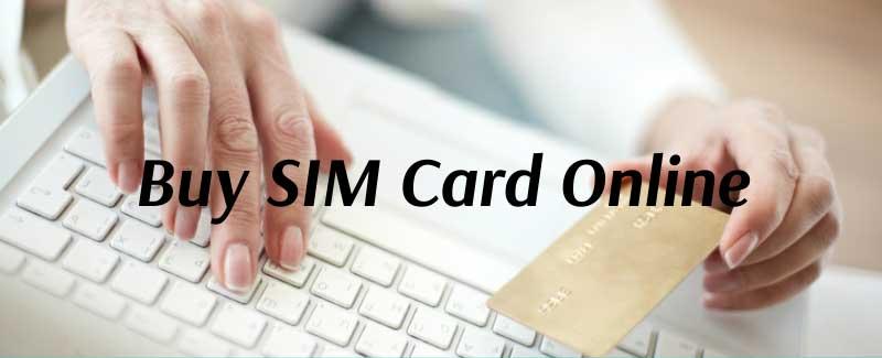 Online SIM card purchase