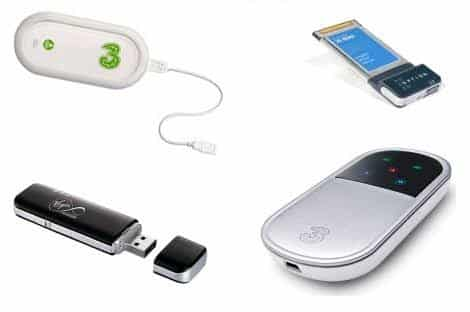 Mobile broadband devices