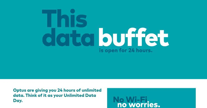 Optus Unlimited Data Day add-on