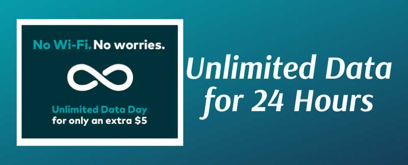 Unlimited Data for 24 Hours