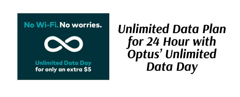 Optus Unlimited Data Day
