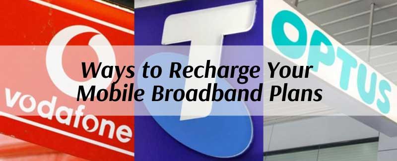 ways to recharge mobile broadband plans