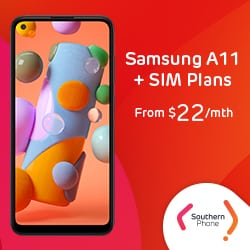 SP - Samsung A Series + Southern Phone SIM plans