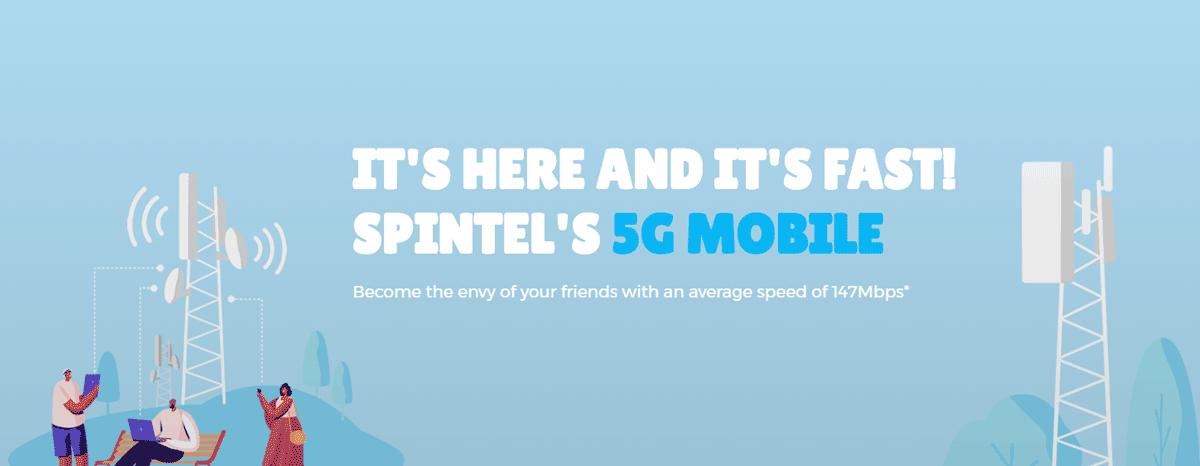 SpinTel mobile 5G plans