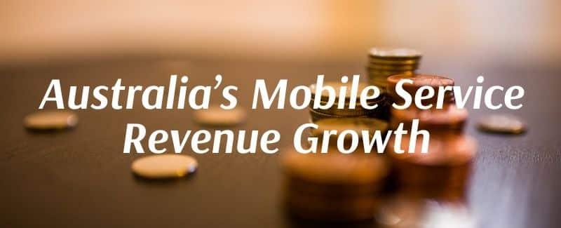 Australia's Mobile Service Revenue