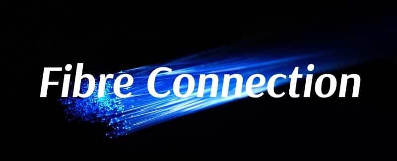 Fibre connection in Australia