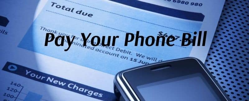 Pay Your Phone Bill