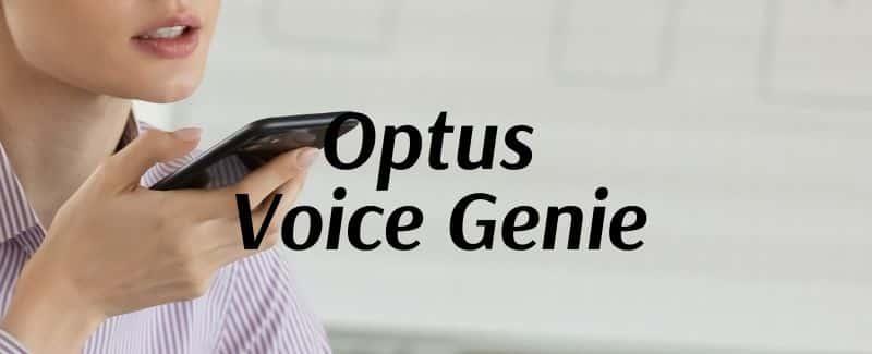 Optus Voice Genie